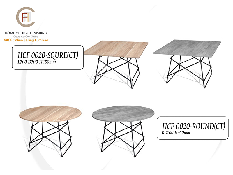WOLFCOFFEETABLE0020RoundSquare Home Culture